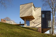 Jesuit Community Center at Fairfield Univesity (Connecticut) by Gray Organschi Architecture.