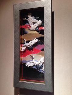 シャドーボックス ☆鶴