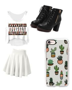 """""""School"""" by mariaalexandra-cdiv on Polyvore featuring Casetify"""