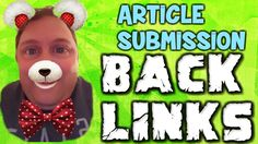 How To Maximize for Articles Submission Sites Article Submission Sites, Taking Pictures, Submissive, Articles, My Love, Music, Youtube, Fictional Characters, Musica