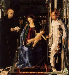 Virgen del caballero de Montesa. paolo da san leocadio