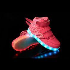 5bda82c6aa Rose Chaussure Lumineuse Led Avec Des Ailes Enfant Multicolor Chaussures  Lumineuses, Chaussure Montante, Des