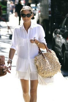 25 Ways To Style Straw Bags – The IT Trend Of The Summer