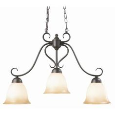Design House Cameron 3-Light Oil Rubbed Bronze Island Light Fixture-512699 at The Home Depot - for over the kitchen island
