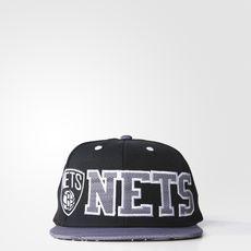 adidas - Nets Flat-Brim Pet