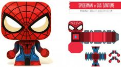 Mini Spider Man en papercraft