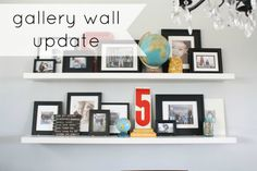 gallery wall update at the pleated poppy
