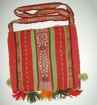Arte textil andino - Chuspas - Wichis - Huaracas