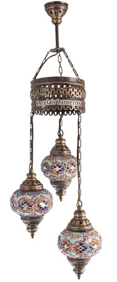 Hey, I found this really awesome Etsy listing at https://www.etsy.com/listing/209368628/3-bulb-turkish-mosaic-hanging-light