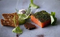 Texture Michelin Starred restaurant - restaurant and champagne bar Mayfair, Scandinavian restaurant