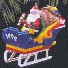 $19.99 Santa's Lego Sleigh 1994 Hallmark Ornament QX5453  From Hallmark Keepsake Ornaments   Get it here: http://astore.amazon.com/ffiilliipp-20/detail/B002UBEY86/178-5163146-9969514