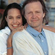Angelina Jolie and her Dad