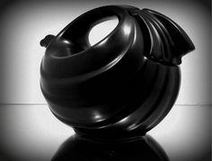 Vintage Hall Teapot Pottery Stoneware Art Deco by HogHeavenVintage, $52.00