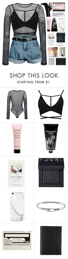 """""""- i'd catch a grenade for you"""" by end-of-the-day ❤ liked on Polyvore featuring Faith Connexion, Boohoo, Retrò, Givenchy, TokyoMilk, H&M, NARS Cosmetics, russell+hazel, CASSETTE and Undercover"""