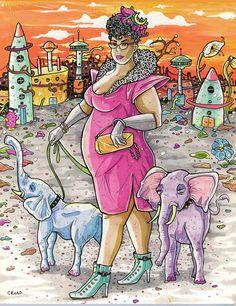 The Chariot Tarot, Wildwood Tarot, Moon Signs, Tarot Decks, Tarot Cards, Amazing Art, History, World, Artist