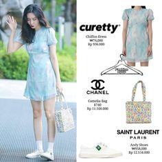 Cute Suitcases, Saint Laurent Paris, Kpop Fashion, Korean Outfits, Chiffon Dress, Challenge, Fancy, Summer Dresses, My Style