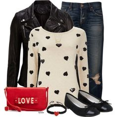 """Hearts and Love"" by stephiebees on Polyvore"