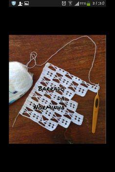 This Pin was discovered by Nag Crochet Diy, Filet Crochet, Art Au Crochet, Crochet Doily Patterns, Crochet Borders, Thread Crochet, Baby Knitting Patterns, Irish Crochet, Crochet Doilies