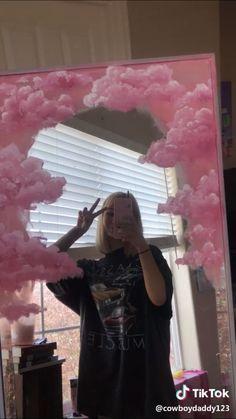 hippie bedroom decor 733523858047209241 - Hippy Room 635077984942722731 – hippie room decor 831406781193055670 – Source by jujugay Source by Source by Aesthetic Painting, Aesthetic Room Decor, Pink Aesthetic, Aesthetic Fashion, Mirror Painting, Mirror Art, Painting Clouds, How To Paint Clouds, Moon Painting