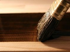 Learn how to choose and use wood stains and clear protective finishes.