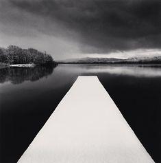 White Pier, Toya Lake, Hokkaido, Japan, 2004: photo by Michael Kenna