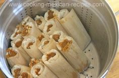 Try our homemade tamales recipe. Become a tamale expert with our step by step instructions with pictures to make masa from scratch and a tender pork filling. These are some of the best tamales around.