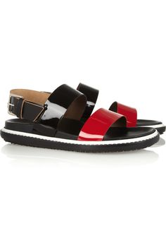 Marni sandals. So comfy!