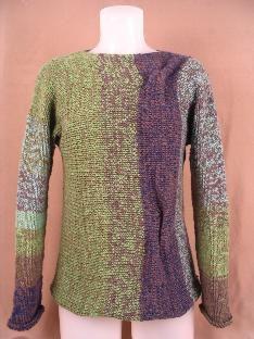 Ravelry: Landscape Sweater pattern by Mieko Mintz
