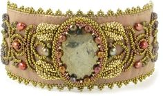 Avalon Bracelet for bead embroidery: beadpatterncentral by tlhsparrow
