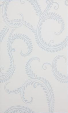 Laura Ashley Tiles: Explore the entire collection of designer tiles Flat Ideas, French Blue, Blue Walls, Tile Design, Glass Panels, Wall Tiles, Damask, Bathroom Wallpaper Laura Ashley, Bathroom Ideas