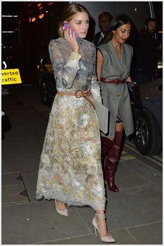London Fashion Week SS15 : Olivia Palermo at Marchesa