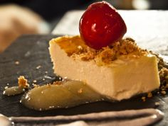 cheese cake with a special touch