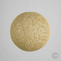 Modern rattan / wicker ball ceiling pendant light shade in a cream finish. This beautiful shade features a woven style finish that allows light to be dispersed creating a stunning light effect on surrounding surfaces. Ceiling Pendant, Pendant Lighting, Light Pendant, Ceiling Light Shades, Ceiling Lights, Sisal, Rattan, Decorate Lampshade, Off White Walls