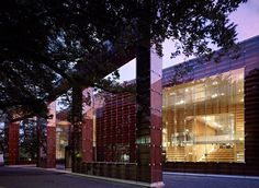 Winners of the 2012 Emirates Glass LEAF Awards | Public Building award and Overall winner for 2012: Sou Fujimoto Architects, with Musashino Art University Museum & Library Tokyo, Japan