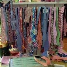 Bow ties on display at Pink Sorbet