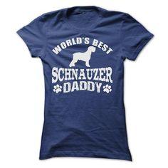 WORLDS BEST SCHNAUZER DADDY SHIRT - Hot Trend T-shirts