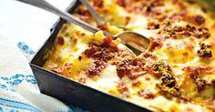 Translate from Swedish - Vegetarian lasagna with mozzarella cheese and spinach Snack Recipes, Vegan Recipes, Cooking Recipes, Vegetarian Recepies, Food Porn, Veggie Lasagna, Spinach Lasagna, Greens Recipe, Food Hacks