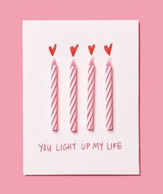 Have some old candles laying around? - Valentine's Day Cards to DIY with Your Kids - Photos