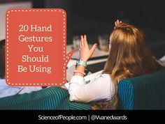 Do you know how to speak with your hands? Check out our list of the 20 hand gestures you should be using in your next speech or presentation.