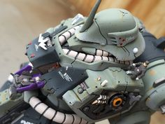 High detailed work on Geara Doga Bust Model by tsuyosith that appeared on modelers-g lately reached the top ten cart in really sort of...