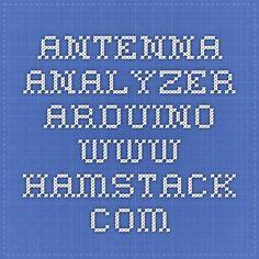 Antenna Analyzer Arduino - www.hamstack.com