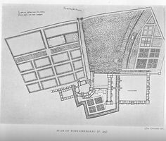 Fontainebleau: Plan of buildings and gardens | Flickr - Photo Sharing!
