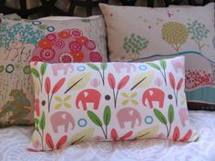 nursery for baby girl **elephants :)