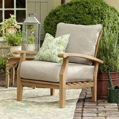Summerton Teak Arm Chair