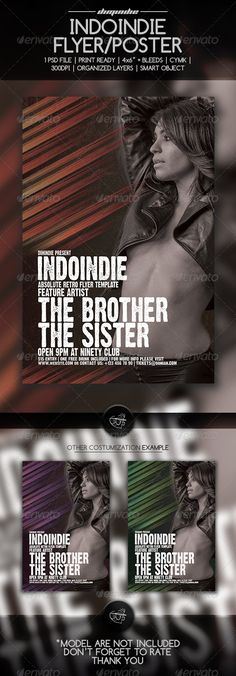 Indo Indie Flyer Template