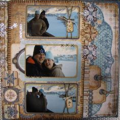 Bo Bunny: Meet Our Friends At Scrap4fun! Christmas Scrapbook Layouts, Scrapbooking Layouts, Scrapbook Paper, White Christmas, Bunny, Paper Crafts, Chipboard, Friends, Winter