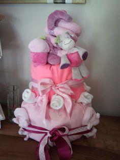 Le gâteau de couches d'Alizée