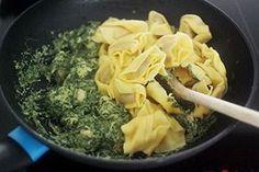 Tortellini met spinazie en kip - Leuke recepten