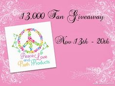 Click the picture to go enter to win!  30 different prizes.