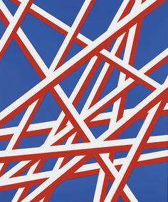Florentina Pakosta at Krobath (Contemporary Art Daily) Abstract Shapes, Abstract Pattern, Geometric Shapes, Pattern Art, Contemporary Art Daily, Modern Art, Textures Patterns, Print Patterns, Artwork Images